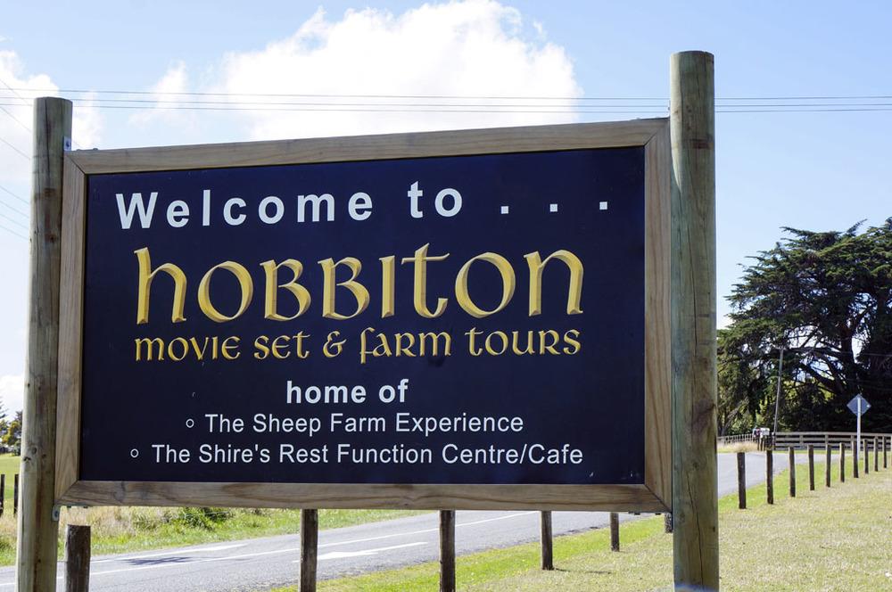 Entering Hobbition