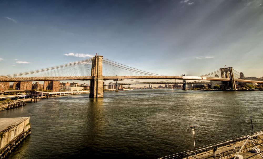 new york city :: two bridges