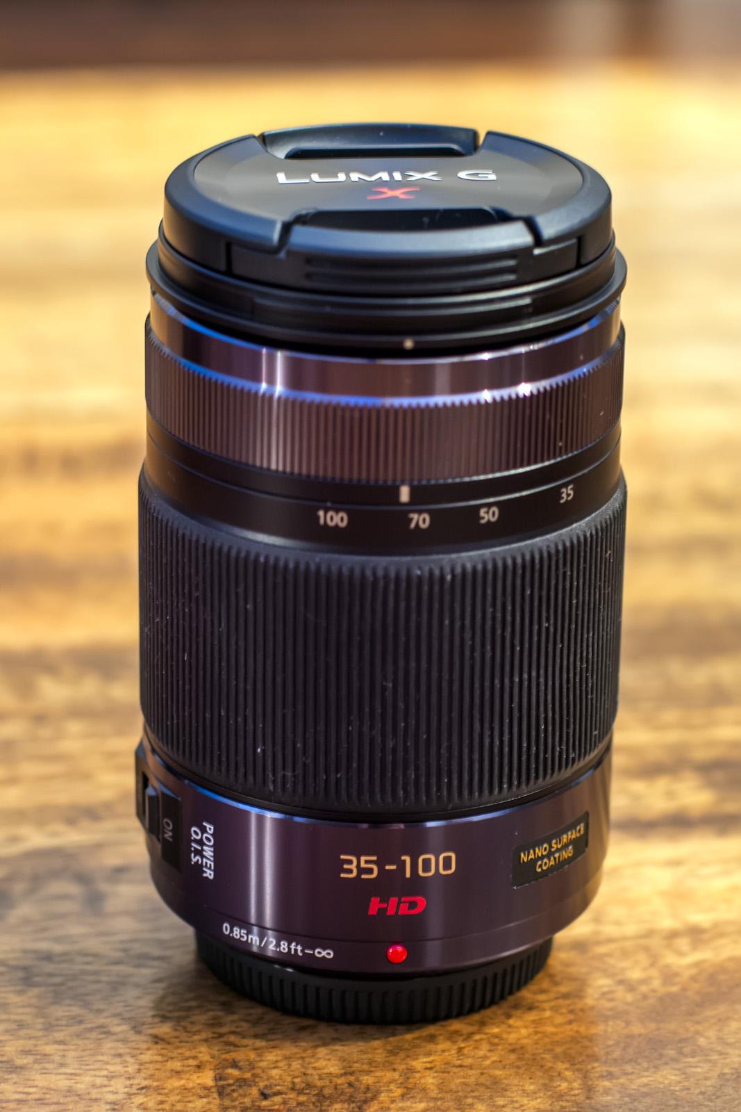 Panasonic Lumix Objektiv G X Vario 35-100mm 2.8 OIS