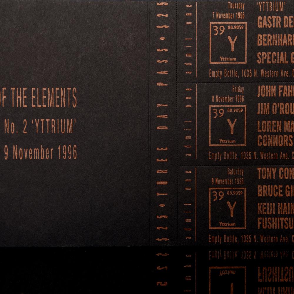 Festival Ticket (1996)