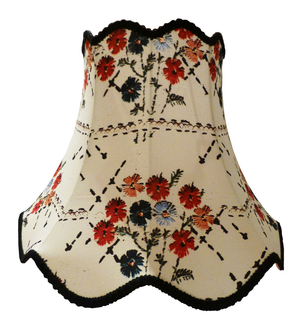 lampshade in embroidery bouquet fabric white.jpg