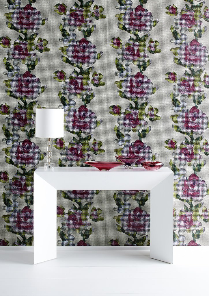 tapestry rose wallpaper for Graham & Brown.JPG