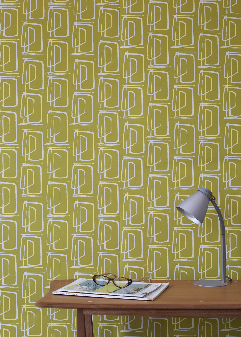 wallpaper in building layout design ochre.jpg