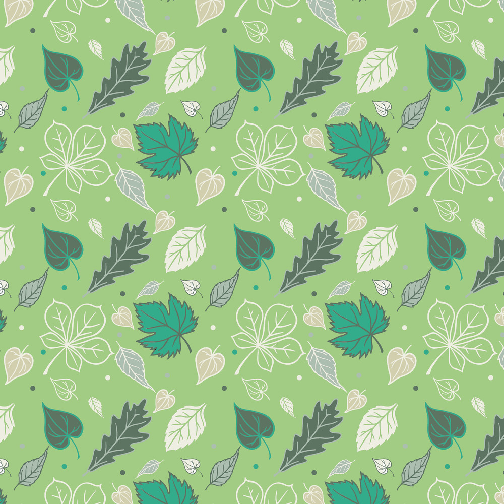 Leaf design green