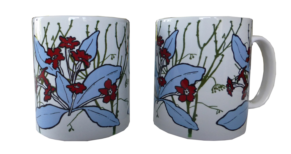Mugs in primrose design