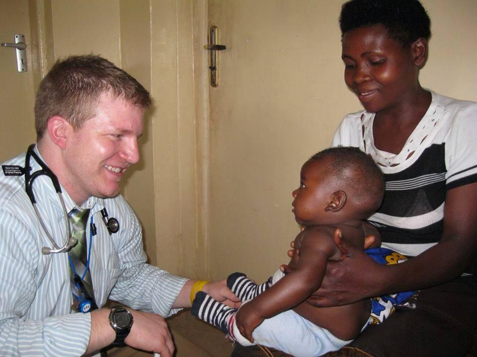 Matt, MS4, Univeristy of Wisconsin, Madison; Mbale, Uganda, 2014   (photo credit Matthew Kudek)
