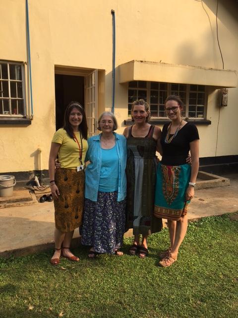 Dr. Kristina and Dr. Elizabeth, MCW, with clinical preceptor, Dr. Jan; Mbale, 2016   (photo credit Elizabeth Loconto)