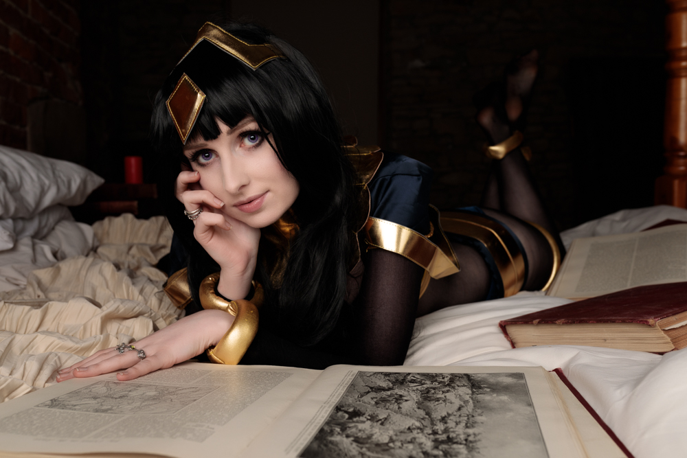 Tharja is reasearching new spells