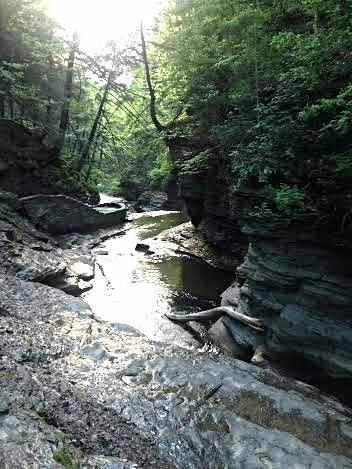 Beautiful Buttermilk Falls