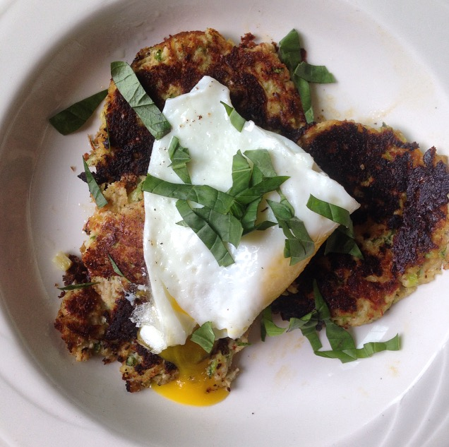 Topped with a fried egg, runny yolk a must in my book.