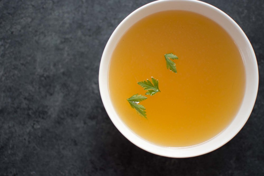 Bone broth for wintertime immunity, Chinese medicine keto paleo anti-viral and fighting colds, from health coach and wellness consultant Andrea Rennie of Grow Happy Grow Healthy