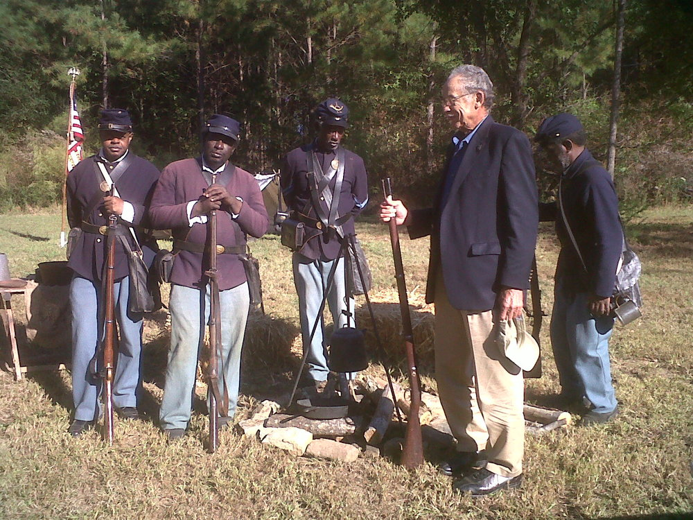Buffalo Soldiers at the Flat Rock Archives