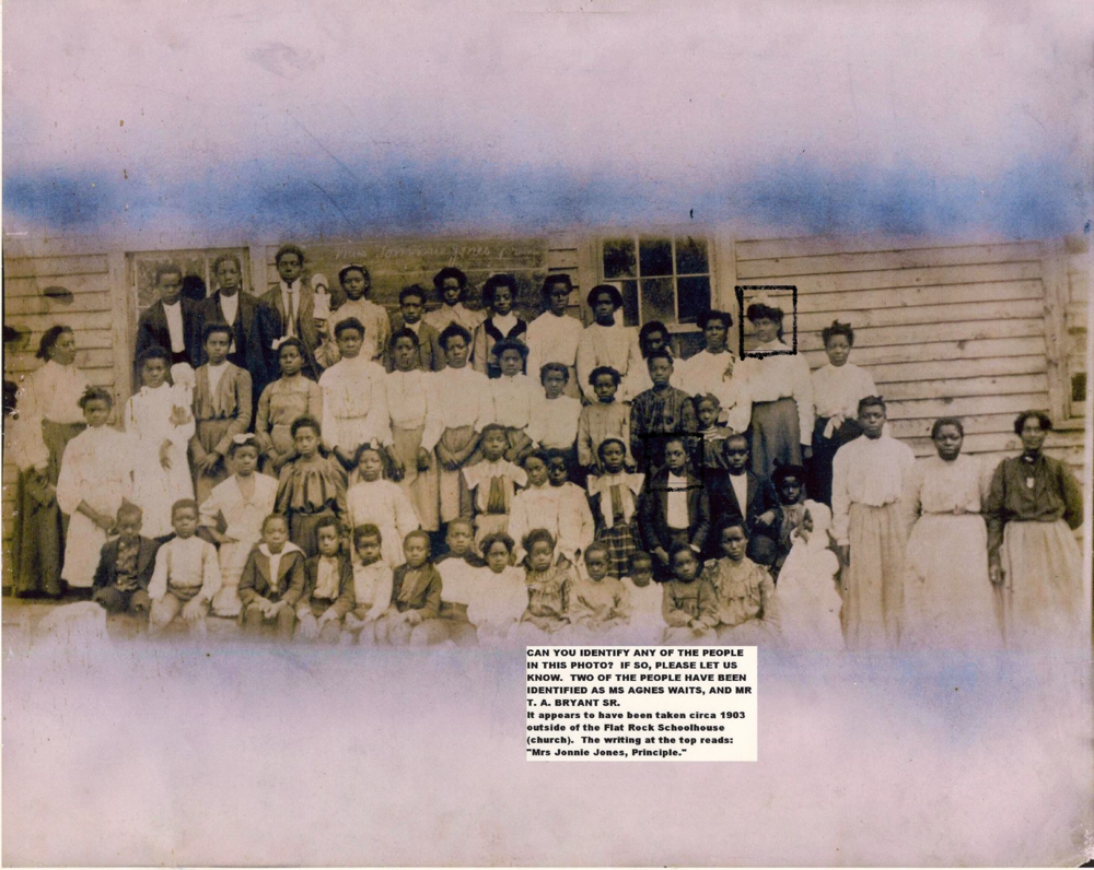 1903 Flat Rock School picture