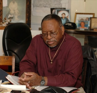 Co-Founder Rev. T. A. Bryant, Jr. at the Archives