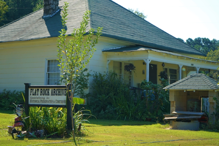 The Flat Rock Archives Museum