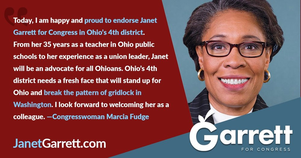 Congresswoman Marcia Fudge