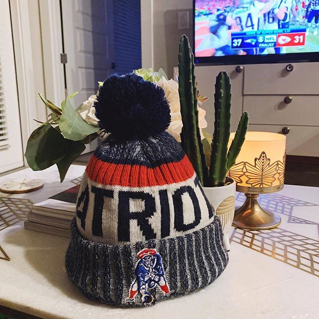 OH MY LANTA! That game was such an emotional roller coaster!!!! If you see me the next two weeks, you can bet big money that I'll be sporting my beanie! #letsgo