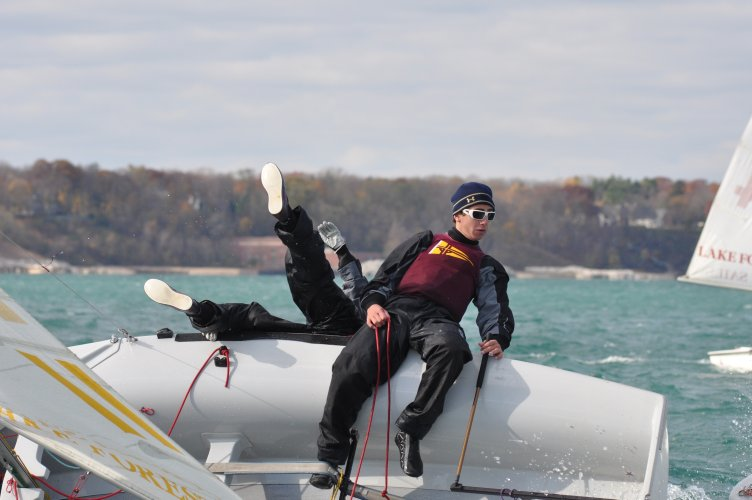 Alex Post and Melinda Lee Loyola Sailing.jpg