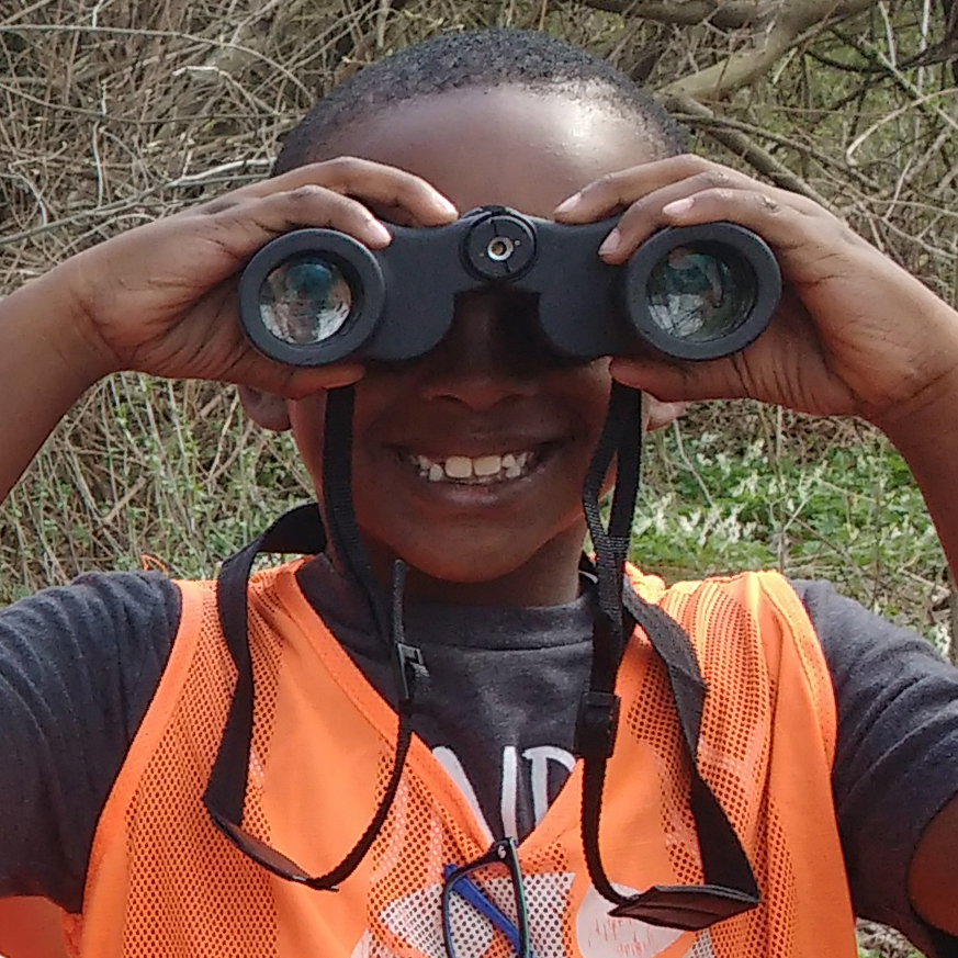 A young naturalist is on a quest to find birds. Will you help kids like him experience the natural world by donating this Giving Tuesday (November 29)?
