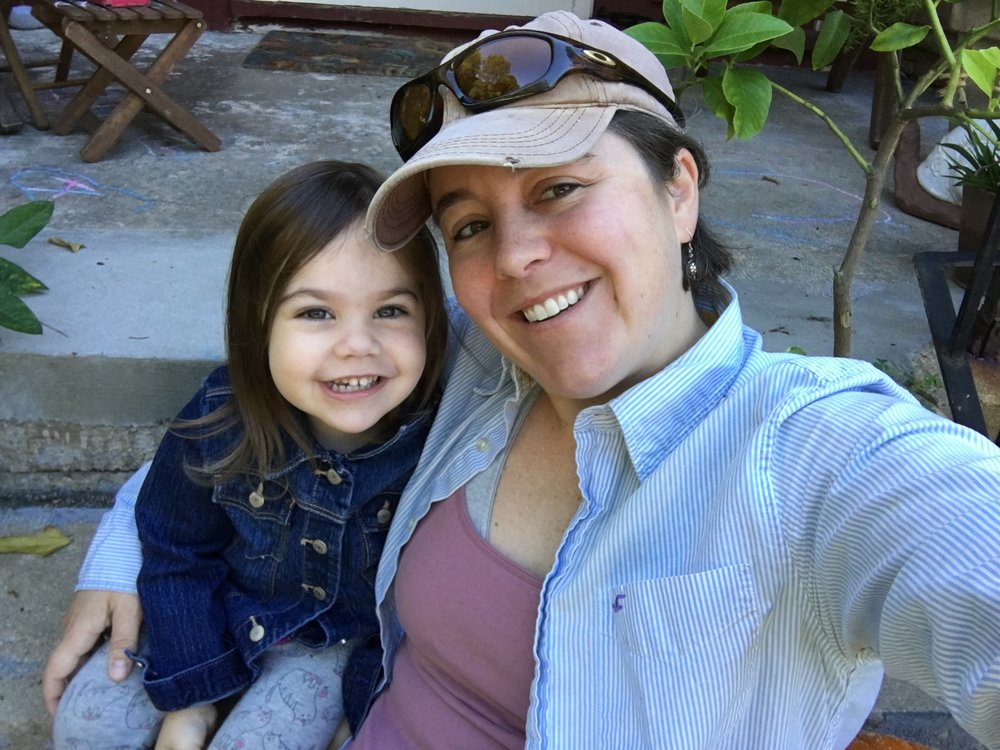 Stephanie Judge with her daughter, Ayla