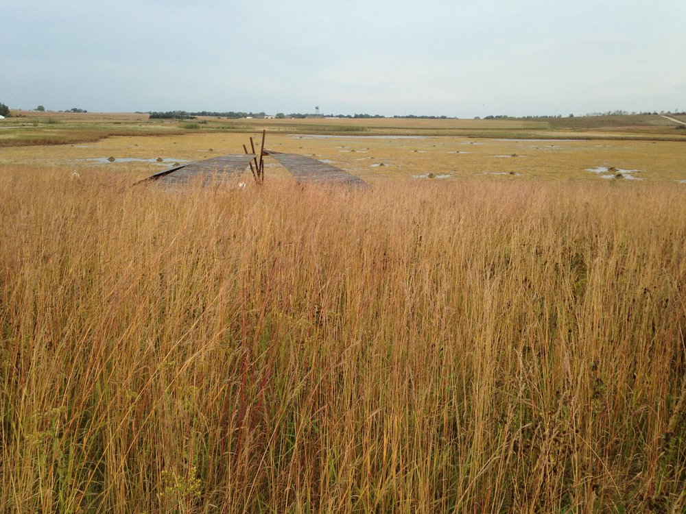 Wingspan overlooks the beautiful Goose Pond, a mecca for migrating waterfowl.