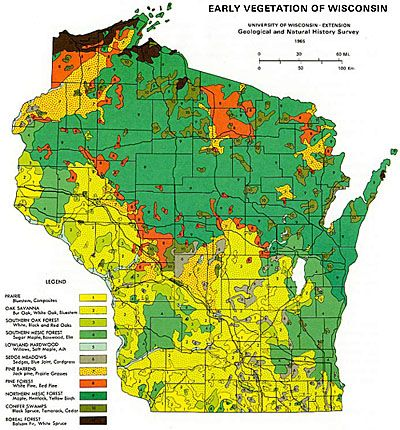 Historic Habitats in Wisconsin