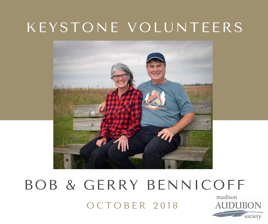 Bob and Gerry Bennicoff are the October 2018 Keystone Volunteers