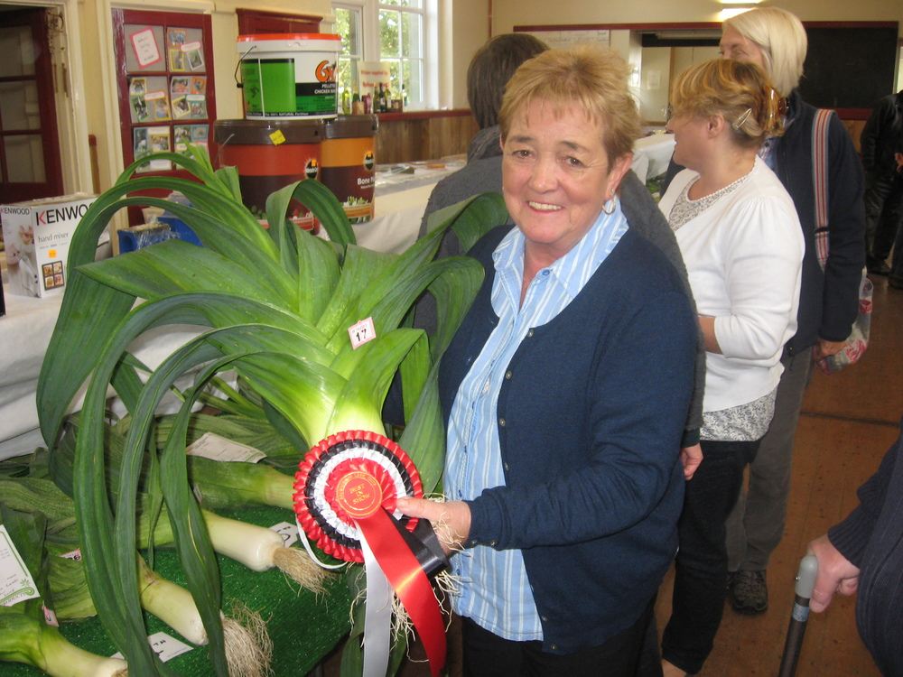 Best Leek in Show 2015 - Jean Young