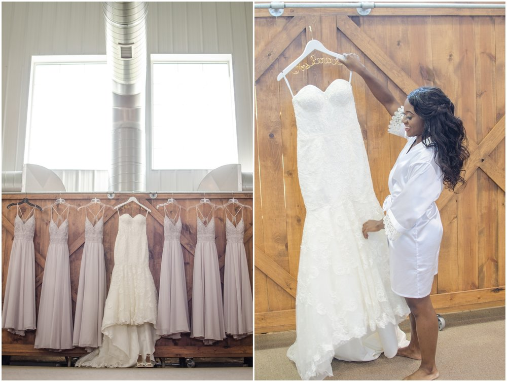 wedding dresses and bridesmaids dresses