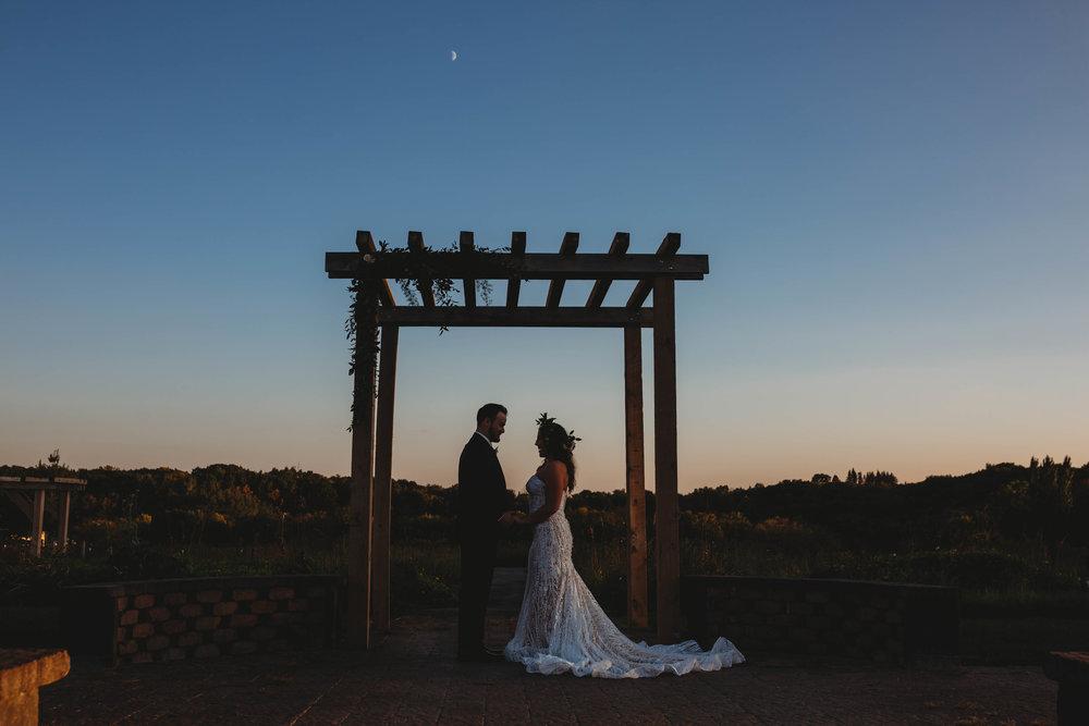 Outdoor Wedding Ceremony, Chaska MN