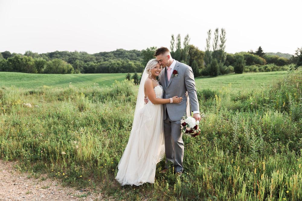 Summer wedding in Minnesota