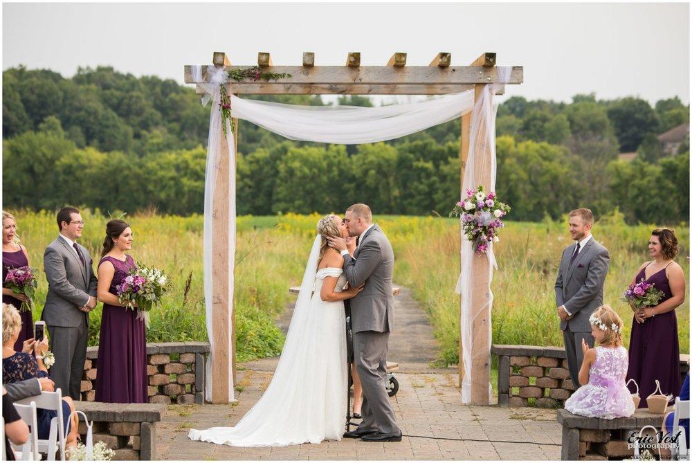 Chaska MN wedding ceremony