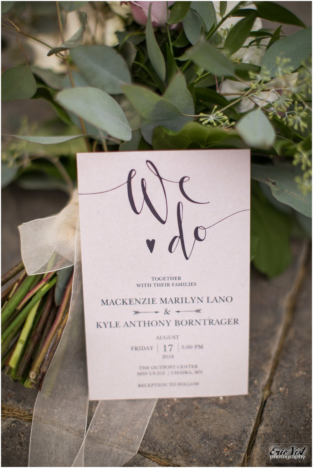 MN wedding invitations