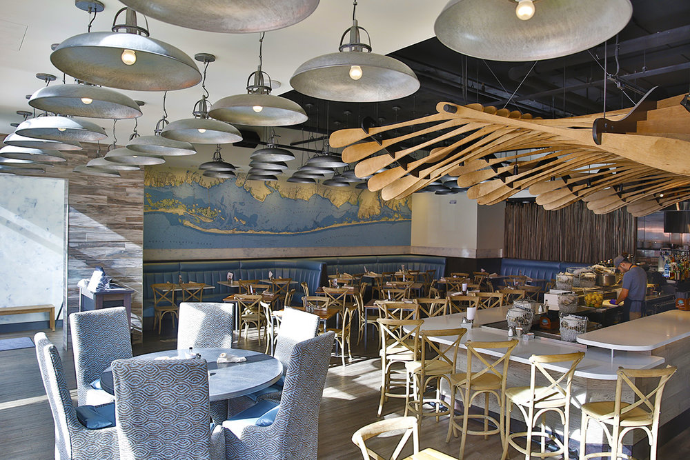 View of Dining Room at Blue Island Oyster Bar and Seafood