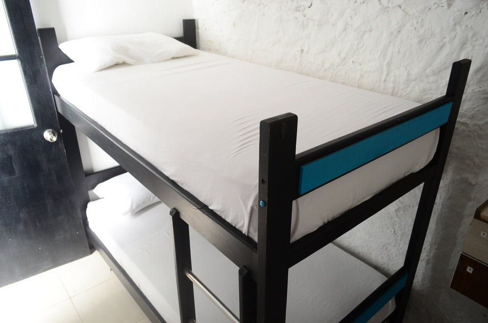 Two double beds dorm.