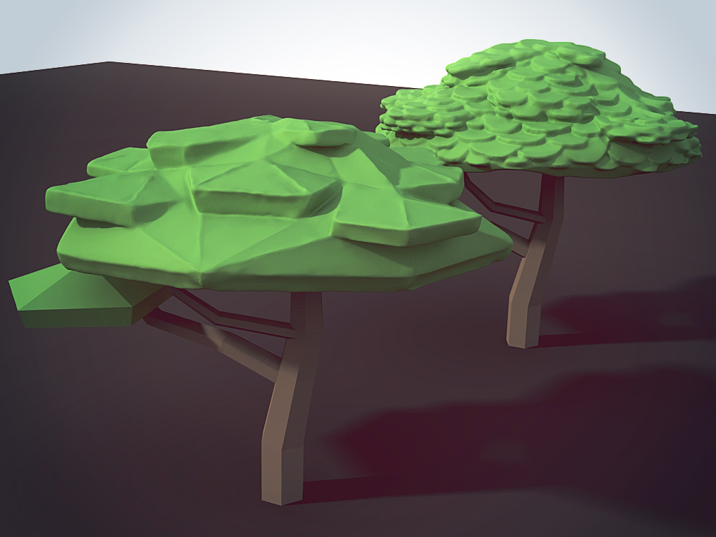 Failed foliage art direction experiments