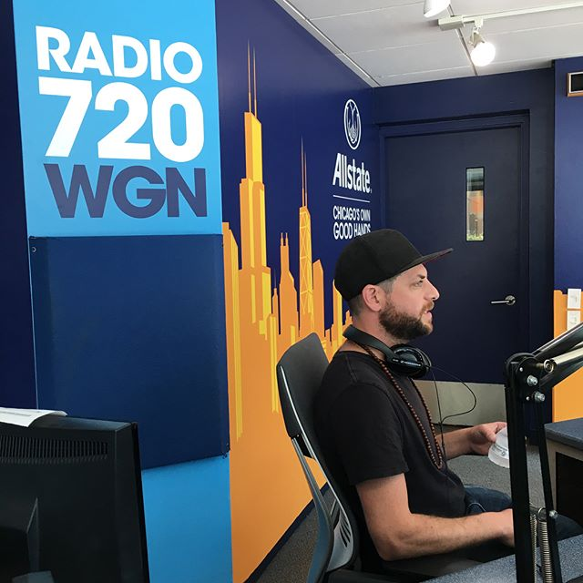 Thank you @wgnradio and @stevebertrandwgn for hosting us today to talk about Passion House! We had a great time sharing our story and our passion for coffee