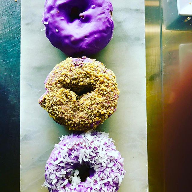Need we say more! Stay cool with the Ube #gurneedonuts