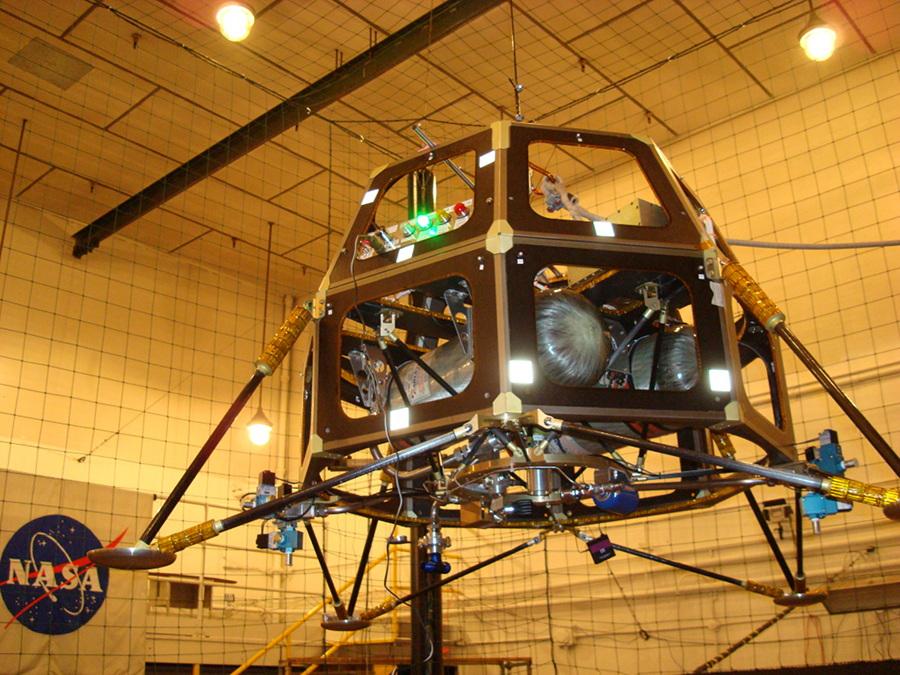 Lander Test Vechicle - MoonEx-1 prototype 1