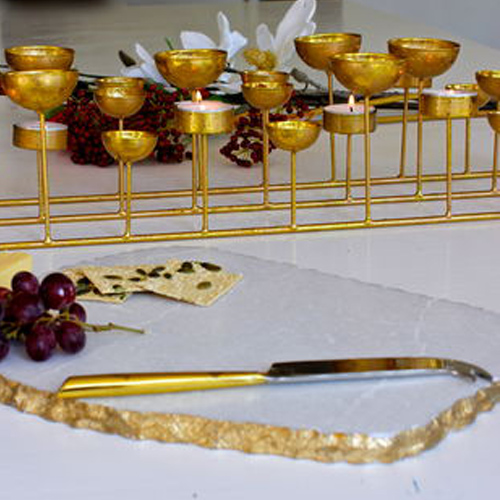 Gold Edge Cheese board