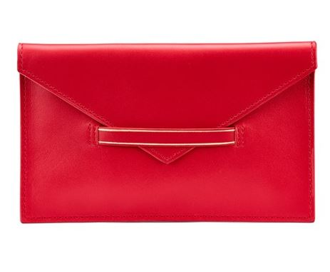 Aspinal leather envelope