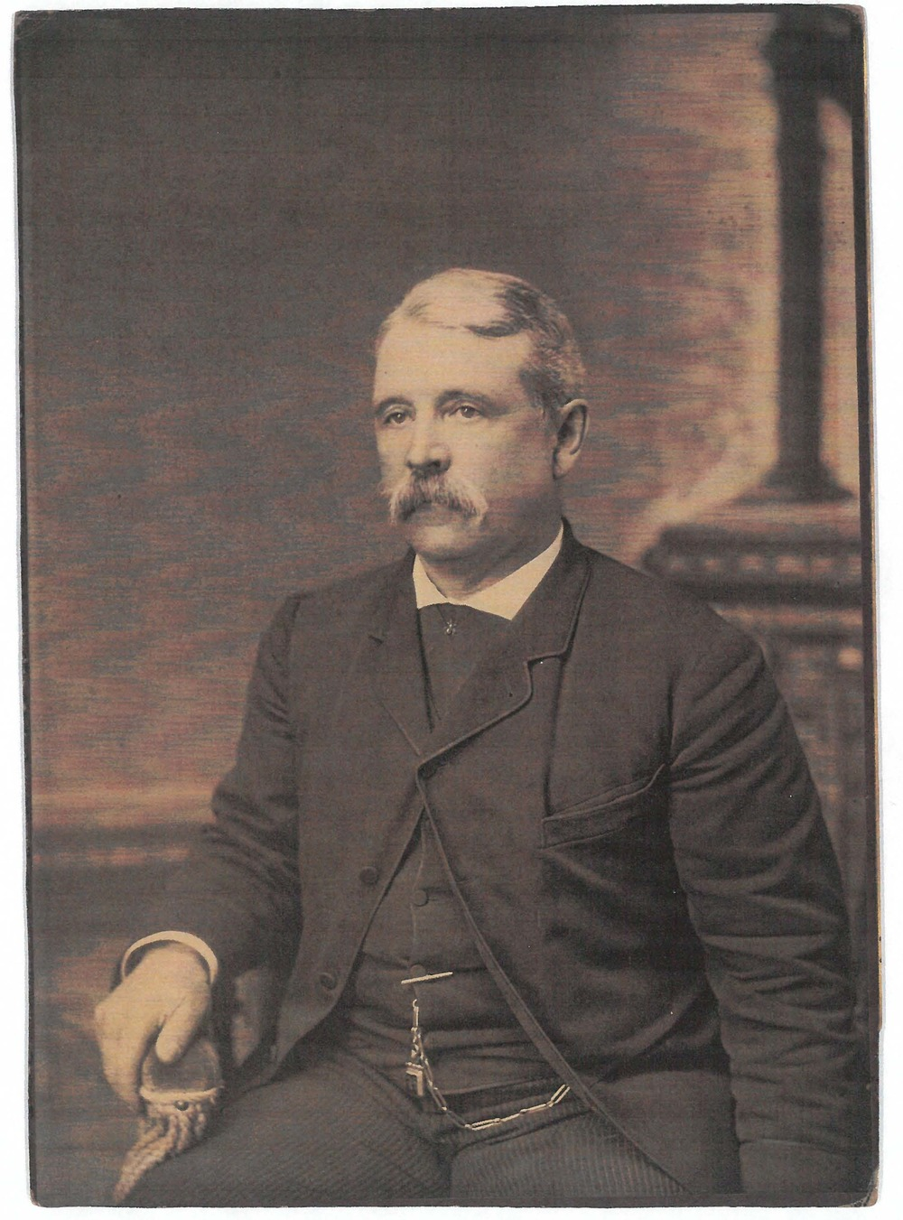Charles B. Hazeltine, the original owner of 6 Union Park.