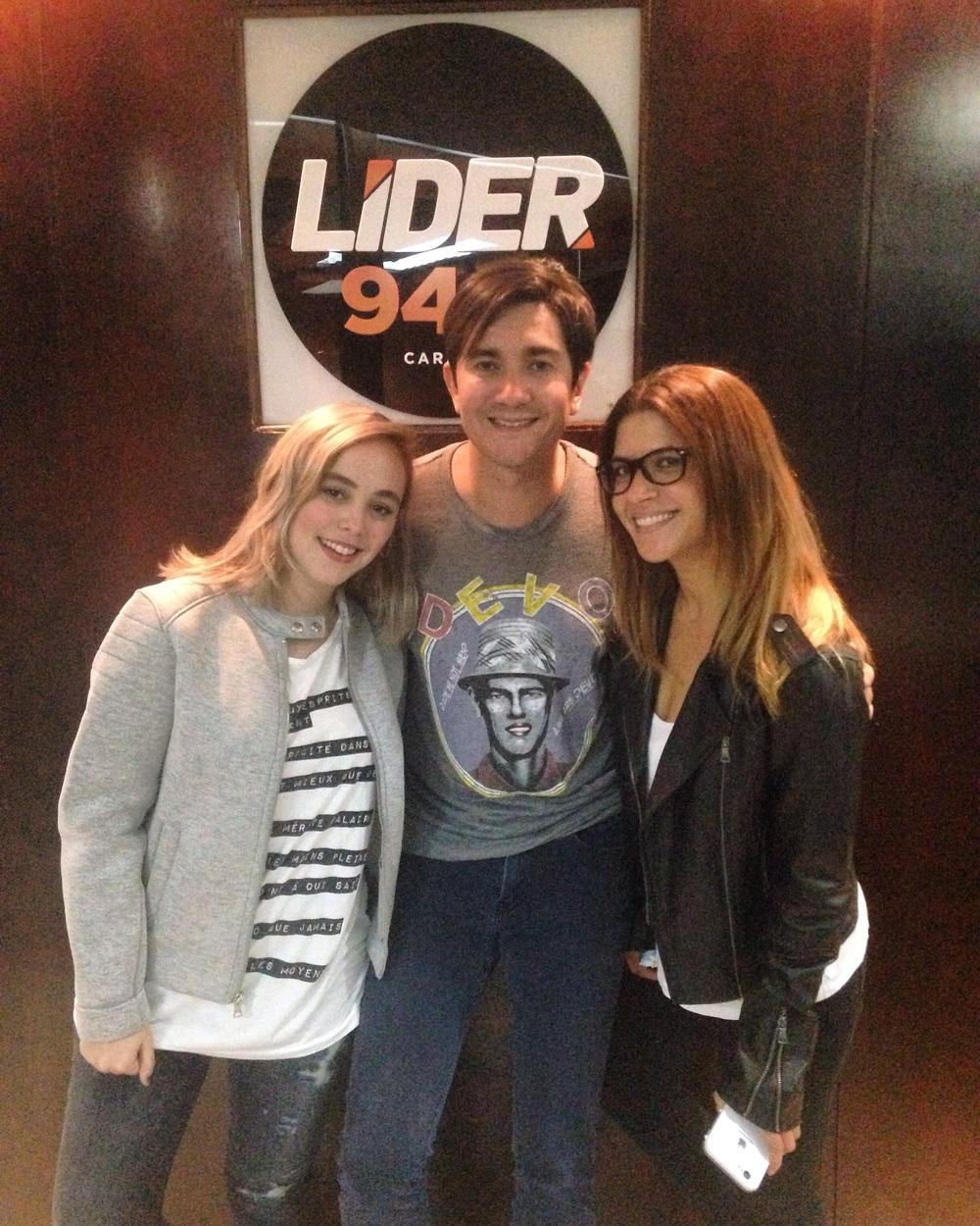 Entrevista en radio Líder 94.9 Octubre 2015