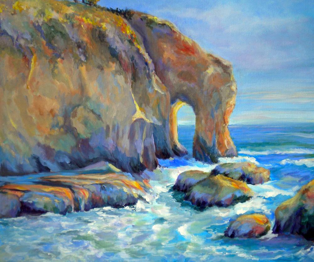 Cliffs of California