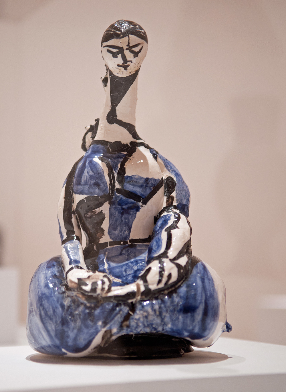 Bottle: Kneeling Woman