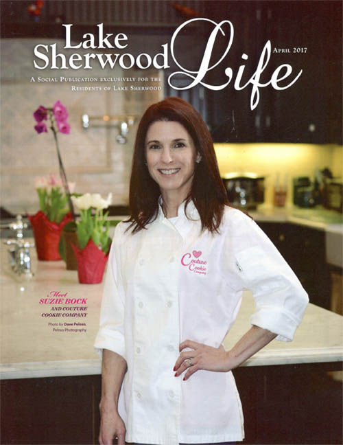 Owner, Suzie Bock, was featured in Lake Sherwood Life magazine.   Click here to read the article.