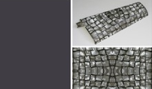 Silveroad wallpaper with Farrow & Ball Paean Black 294