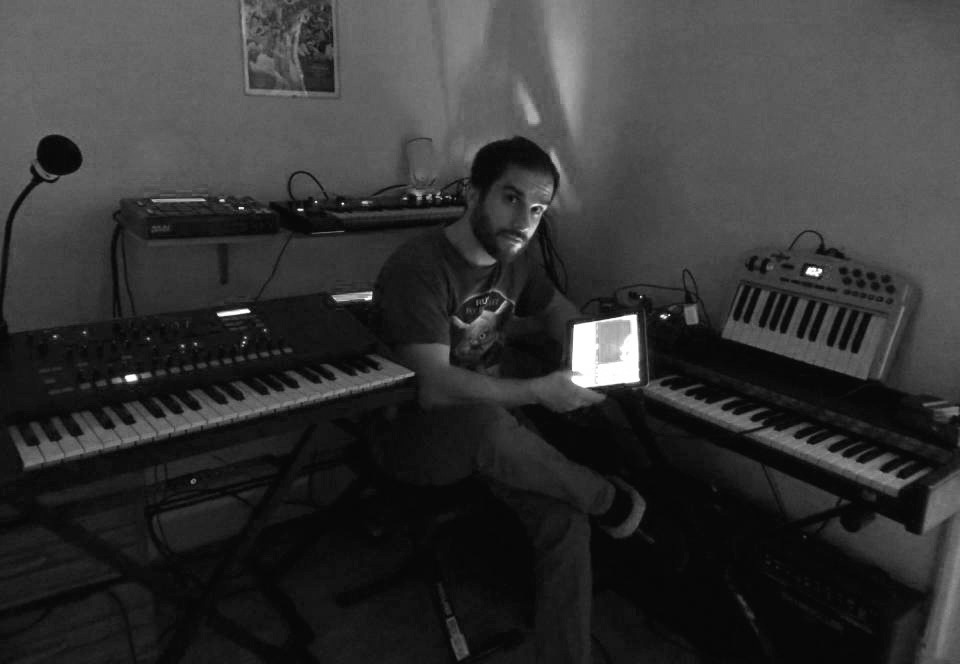 Brian Lawlor in his Jersey City studio, NJ.