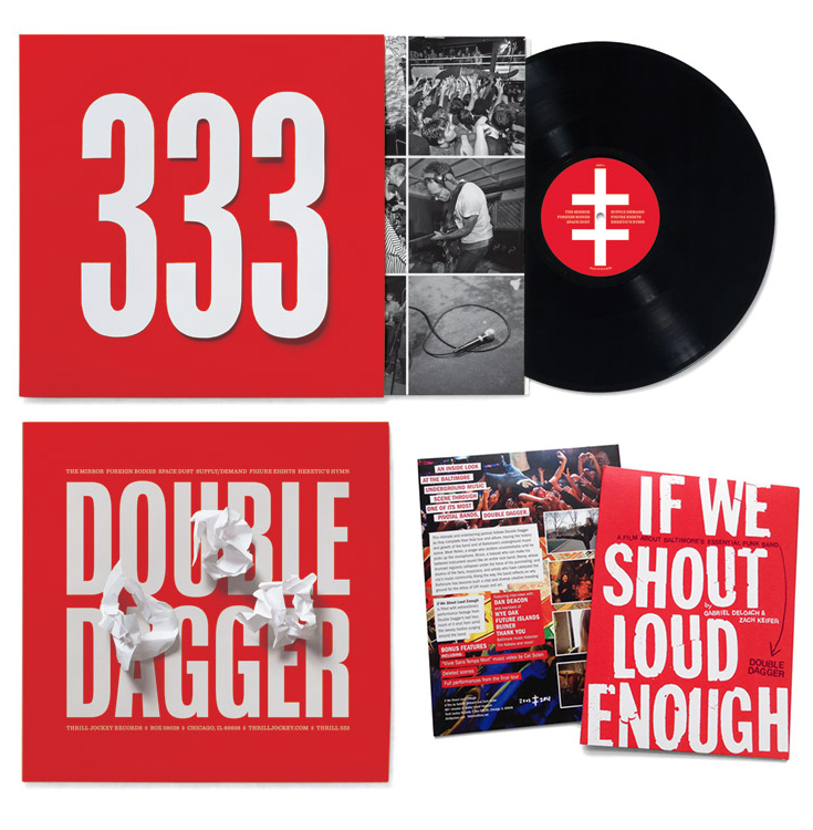 333 by Double Dagger & IWSLE DVD design by Post Typography