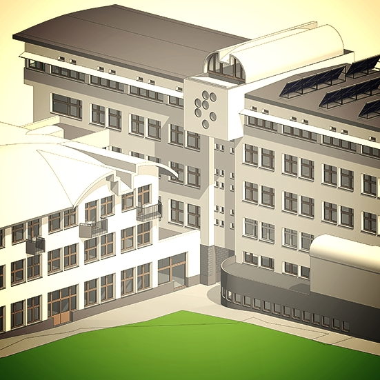 Energetska sanacija Institut Jožef Stefan